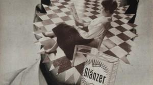 Glänzer, 2015, Collage, 34,2 x 24,6 cm