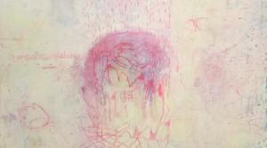 """""""Rebecca I """" , 2012, mix technique on canvas, 100 x 140 cm"""