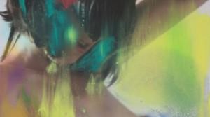 Kannst du ausser Brüste auch was anderes, 2015, oil mix technique on canvas, 60 x 45 cm
