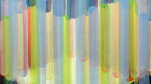 modulation 06, 2014, acrylic on canvas, 105 x 70 cm