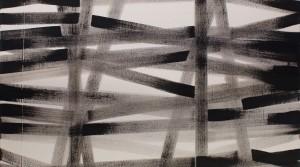 modus 01, 2014, acrylic on canvas, 105 x 105 cm