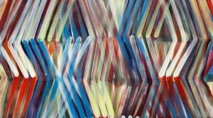 modus 05, 2014, Acrylic on canvas, 110 x 110 cm