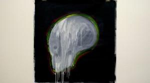Fabio Moro, o.T., 2012, mixtechnique on canvas 110 x 108 cm