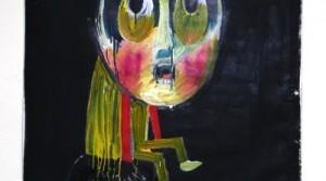 Fabio Moro, o.T., 2010, mixtechnique on PVC, 160 x 115 cm
