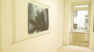 untitled., 2012, Print on Japanese tissue paper, 90 x 145 cm