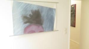 untitled, 2012, print on Japanese tissue paper, 70 x 100 cm