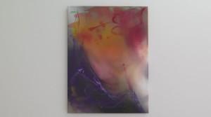 Die Ironie des Selbstzweifels, 2014, oil mix technique on canvas, 60 x 45 cm