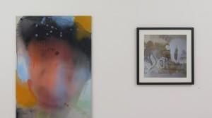 Thai Ho Pham, Ich wusste nicht, dass es so anders wird, 2013, oil mix technique on canvas, 100 x 70 cm Holger Zimmermann, Ja, 2009, Photograph, Edition 5 + 2 E.A., 40 x 40 cm