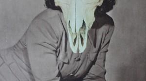 Mit dem Kopf durch die Wand, 2014, Collage, 27 x 19,3 cm