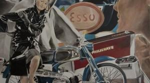 Esso Going, 2010, Acryl auf Leinwand, 100 x 100