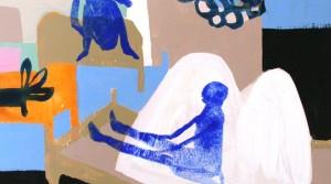 Tagtraum , 2010, Acryl auf Leinwand , 40 x 40 cm