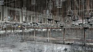 """Kauenhaken"""" 2009 45 x 30 cm"""