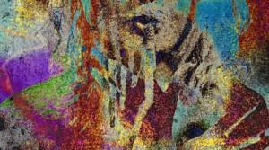 P.U.C. XXXIV, 2014, Pigmentdruck auf Leinwand, 150 x 100 cm