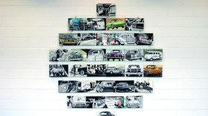 Triumph der Technik, 2008 - 2012, Acryl auf Leinwand, je 22 x 14