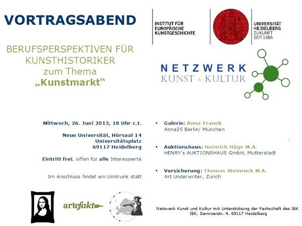 Vortrag von Anna Franek an der Ruprecht-Karls-Universität Heidelberg
