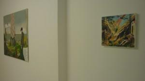 Fabio Moro, No Pain No Gain, 2013, Buntstift auf Leinwand, 28 x 33 cm; Moritz Dometshauser