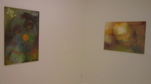 Thai Ho Pham, Not Funny, 2013, Ölmischtechnick auf Leinwand, 100 x 75 cm; Thai Ho Pham, Meine Inneren Dämonen, 2013, Ölmischtechnick auf Leinwand, 70 x 100 cm