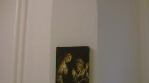 Fabio Moro, o.T., 2013, Pastelöl und Pastel auf Leinwand, 20 x 27 cm
