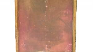 o.T., 2012, Mischtechnik auf Leinwand, 100 x 52 cm