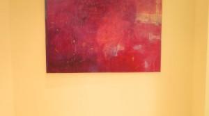 o.T., 2012, Mischtechnik auf Leinwand, 95 x 130 cm