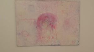 Rebecca I, 2012, Mischtechnik auf Leinwand, 100 x 140 cm