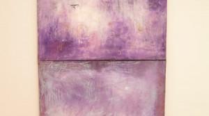 o.T., 2012, Mischtechnik auf Leinwand, 140 x 100 cm