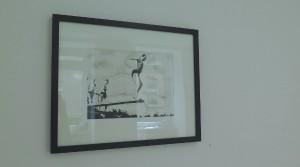 Holger Zimmermann, Jump, 2014, Acryl auf Bütten, 32 x 24 cm