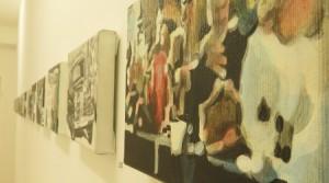 Aaron Vidal, Triumph der Technik, 2009 – 2014, Acryl auf Leinwand, je 14 x 22 cm