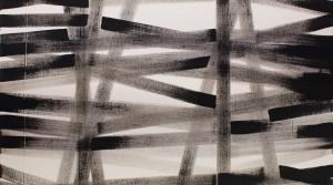 Bernhard Paul, modus 01, 2014, Acryl auf Leinwand, 105 x 105 cm