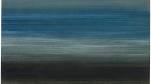 Bláa, 2012, Öl auf Leinwand, 140 x 140 cm