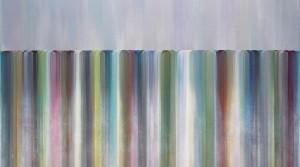 interlude JC-04, 2019, Acryl auf Leinwand, 105 x 150 cm
