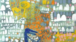 Märzterasse, 2011, Acryl auf Leiwand, 35 x 50 cm