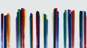modulation 03, 2014, Acryl auf Leinwand, 120 x 180 cm