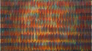 TCW-2_density_02, 2011, Acryl auf Leinwand, 99 x 99 cm